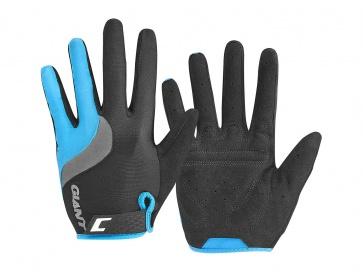 Giant Tour Long Finger Gloves Black Blue
