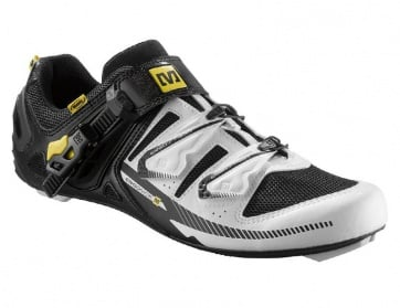 Mavic Galibier Road Bike Cycling Shoes White Black Yellow