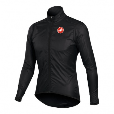 Castelli Squadra Long Jacket Bicycle Cycling Black