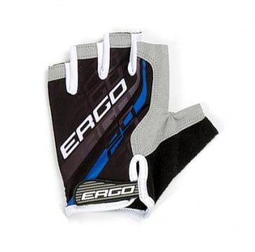 Ergo Flex Half Bicycle Gloves Micro Hexa Pad Blue
