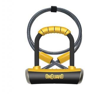 Onguard 8008 Pitbull Mini DT U-Lock 90x140mm 14t