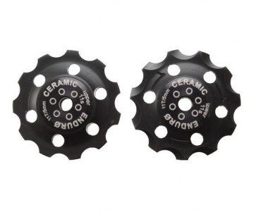 Enduro Zer0 Ceramic Derailleur Pulleys Sram11 Black NLS