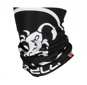 Castelli Thermo Head Thingy Black-White