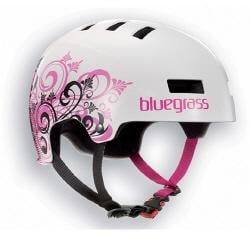 Bluegrass Super Bold Urban Dirt Jump Helmet Pink White
