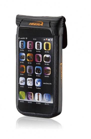 Ibera IB-PB16 Plus Q4 Waterproof Phone Case 4.5-5 Inch Black