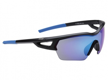 BBB BSG-3612 Arriver MLC Sport Sunglasses Matt Black Blue Lens