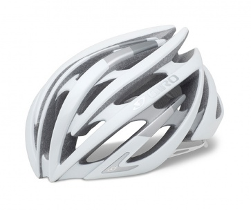 Giro Aeon AF Road XC Bicycle Helmet Matt White Silver