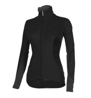 Castelli Transparente 2 wind jersey FZ womens black