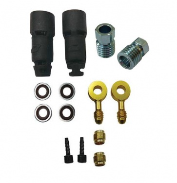 Jagwire HFA406 HyFlow Quick-Fit Fitting Kit for Magura