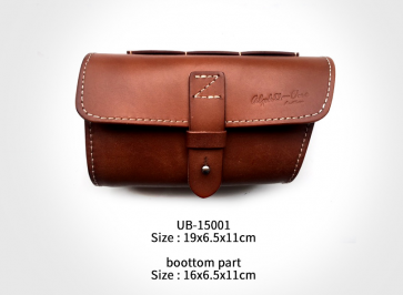 AlphaOne UB-15001 Upper Tube Leather Bag