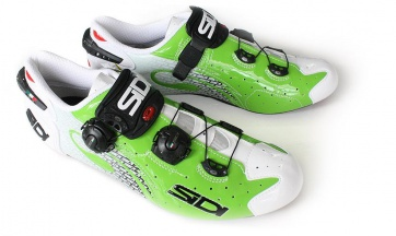 Sidi Wire Carbon Cannondale Shoes Limited Edition White Green