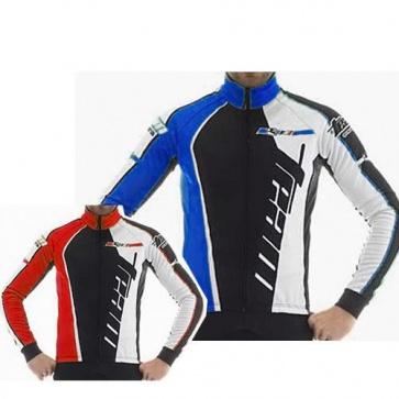 Giordana Trade Team Winter Cycling Jacket-Blue
