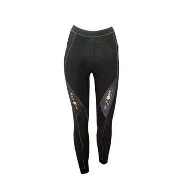 Funkier Womens Cycling Tights S134-C12 Black Pad