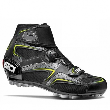 Sidi Frost Gore MTB Cycling Winter Shoes Black Yellow