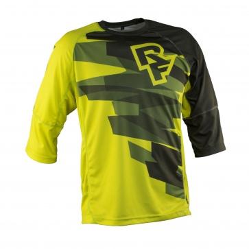 Race face Indy Jersey -Short Sleeve Sulphur