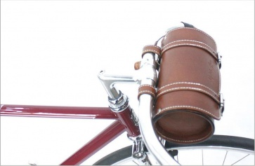 AlphaOne SB-002 Handle Bar Leather Bag