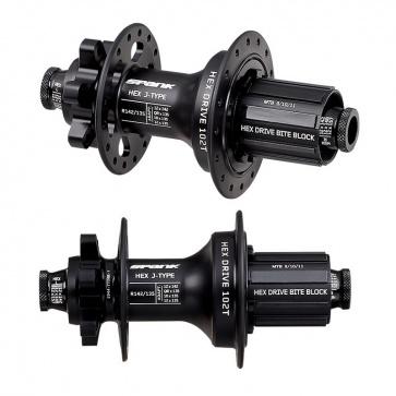 Spank Hex Drive Rear Hub 135 142mm