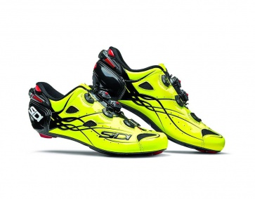 Sidi Shot Road Cycling Shoes Bright Yellow