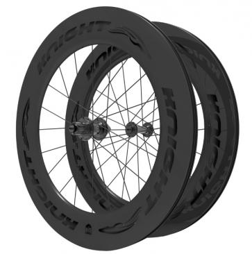 Knight Composites 95w-dt Swiss 240s Carbon Clincher Wheelset 700c Black