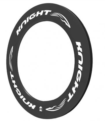 Knight 95 Carbon Rim Clincher Rear 700C White
