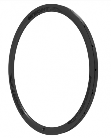 Knight 35 Carbon Rim Tubular Rear 700C Black