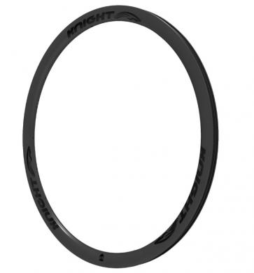Knight Composites 35 Carbon Disc Clincher Rim 700c Black