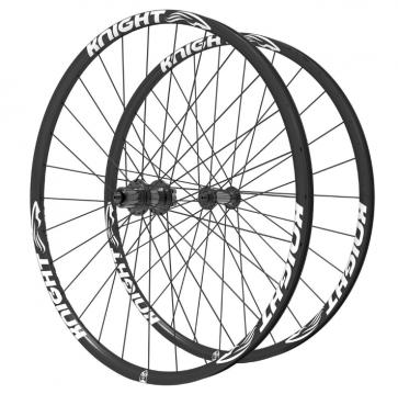 Knight Composites Gravel Road 700c-29 Carbon Fiber Wheelset-Xd 12*142