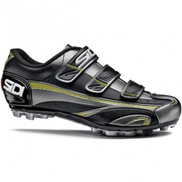Sidi Peak MTB Shoe Titanium Black