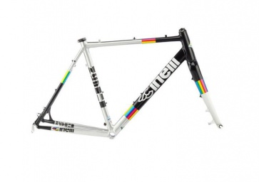 Cinelli Zydeco Aluminum Cross Tour Frame - Rainbow 61cm