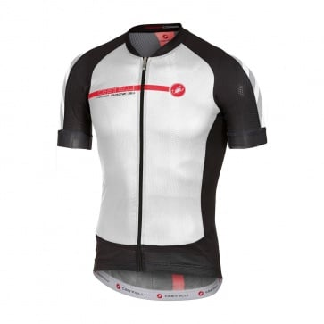 Castelli Aero Race 5.1 Short Sleeve Jersey White