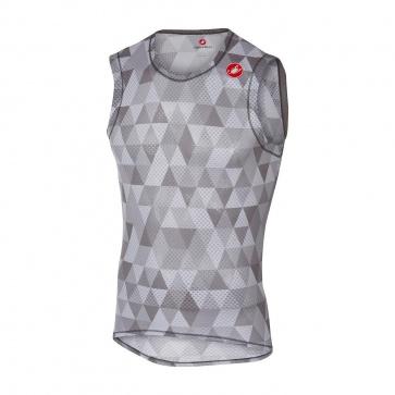 Castelli Pro Mesh Sleeveless Base Layer Grey