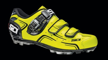 Sidi Buvel MTB Shoes Yellow Fluo Black