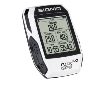 Sigma ROX 7.0 GPS Cycle Computer- White