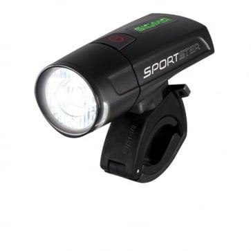 Sigma Sportster LED Front Light-Black