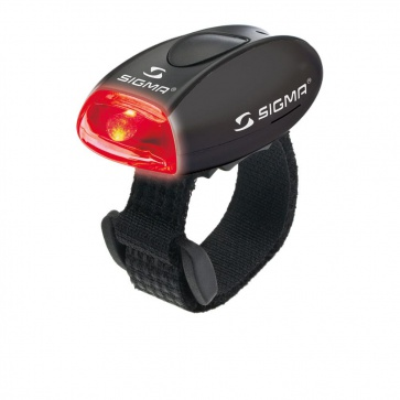 Sigma Micro - Safety Light With Red LED-Red