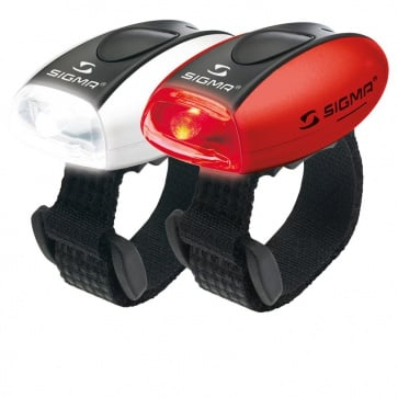 Sigma Micro Combo RED-LED-Red + WHITE-LED-White - Safety Light Set