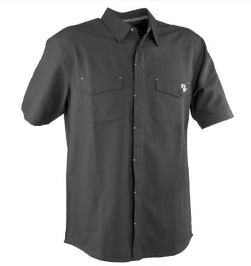 Race Face Shop Shirt- Short Sleeve Black