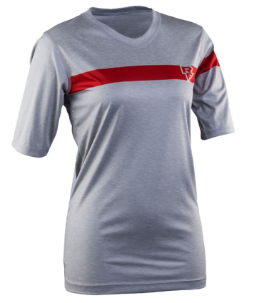 Race Face Charlie Tech Top-Short Sleeve Grey