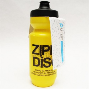 Zipp Water Bottle Purist Watergate Disc Yellow 22oz