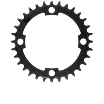 "M-Wave E-Bike Chainring 1/2x3/32"" Narrow Wide Steel 36t black"