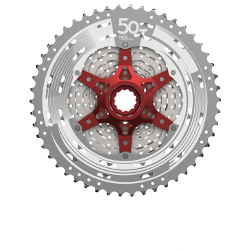Sunrace MTB Sprocket CSMX80 11s 11-50 metallic
