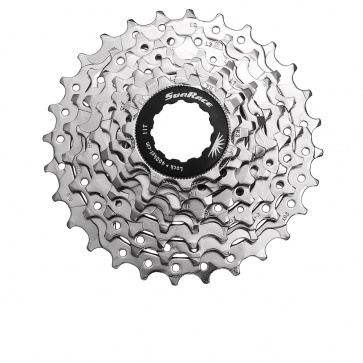 Sunrace Road Sprocket CSR86 8s 12-25 nickel