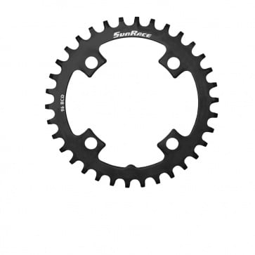 Sunrace 1x11s Chainring Steel Narrow Wide 32T Black  BCD 96mm