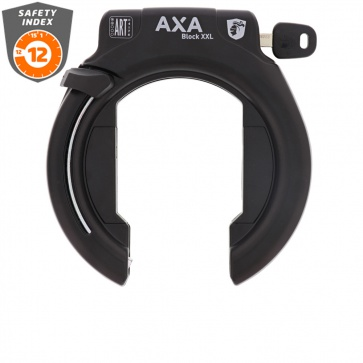 Axa Frame Lock Block XXL Black