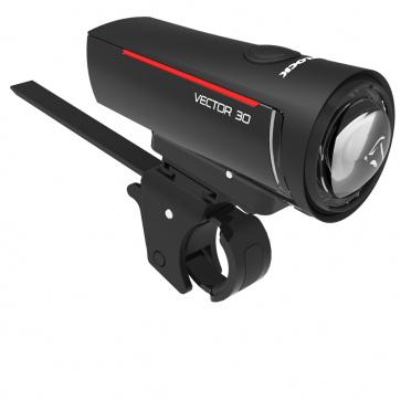 Trelock Battery Light LS 300 I-GO® VECTOR 30 FB bl USB ZL 300