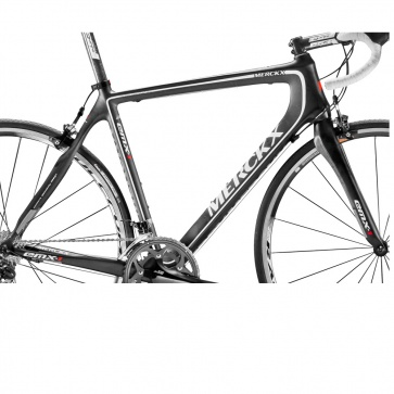 Eddy Merckx Frame Set EMX-1 VK 1295 Black-White-Carbon