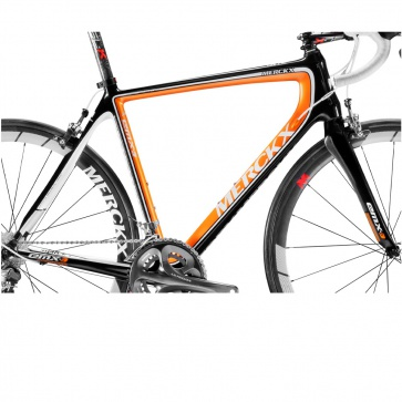 Eddy Merckx Frame Set EMX-3 VK 1695 Black Orange (BKO)