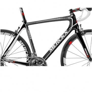 Eddy Merckx Frame Set EMX-3 VK 1695 SW-White-Carbon (BWC)