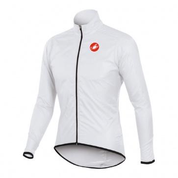 Castelli Squadra Long Jacket Bicycle Cycling white