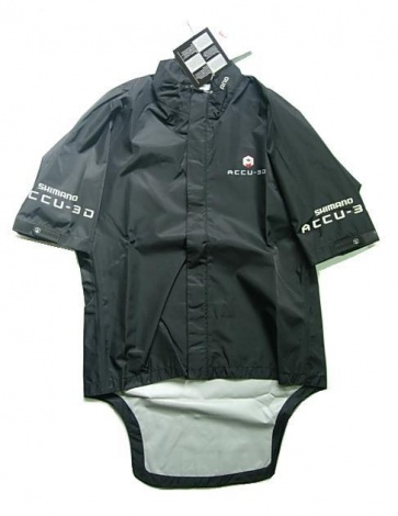 Shimano Accu-3D Rain Jacket Short Sleeves